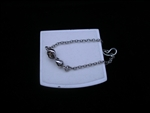 Somers Small Infinity Chain Bracelet