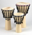 "Large Djembe -Softwood (14.5""x26"")"