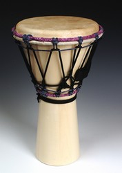 "Mini Djembe - Specialty Wood (9""X16"")"