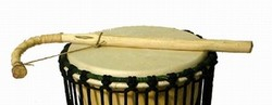 Talking drum stick