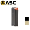 ASC Stainless Steel 9mm Magazines - 10-round