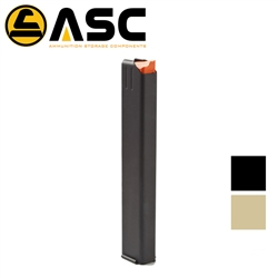 ASC Stainless Steel 9mm Magazines - 32-round