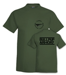 BULLPUP ARMORY T-Shirt - 100% Cotton