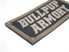 "Bullpup Armory 4""x2"" PVC Patch with Velcro Backing"