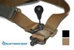 Blue Force Gear Vickars VCAS 221 Padded Sling - 2to1 with R.E.D. Swivel Knob