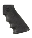 Hogue OverMolded Rubber Grip with Finger Grooves Black