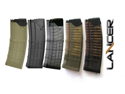 Lancer Advanced Warfighter Magazine (30 round - 5.56NATO/.223 rem)