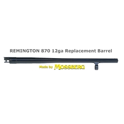 Remington 870 Barrel - 18-5inch matte