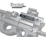 Percival Armaments PS90 Side Rail - with QD Port