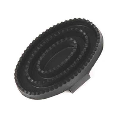 Equine Grooming Flexible Rubber Curry Comb