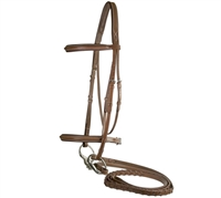 Best Discount Price on Fancy Leather Comfort Crown Dressage Bridle