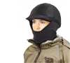 Winter Riding Helmet Cover The perfect addition to your winter riding wardrobe, keep you snug and comfortable during the coldest winter rides. Fleece covers your neck, cheeks, and chin keeping you warm with the added protection of your helmet underneath.