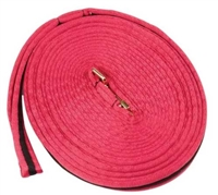 Two-Toned Padded Lunge Line- Hot Pink For Sale!