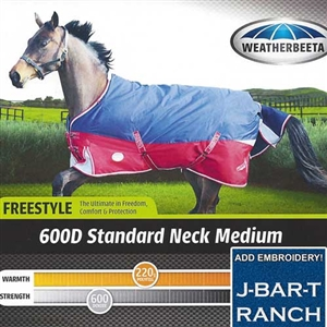 Weatherbeeta Freestyle 600D Turnout For Sale!