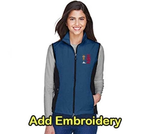 AB Ladies NE 3 Layer Soft Shell Vest-Regatta Blue For Sale!