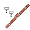 Myler Leather Curb Strap Kit for sale