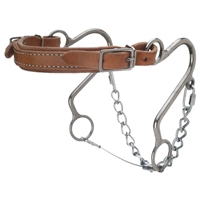 Leather Nose Little S Hackamore For Sale!