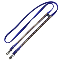 Navajo Designed Beta Grip Reins with Color on Ends for Sale!