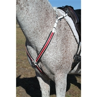 Padded Breast Collar with Overlay Color for Sale
