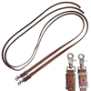 Western Designed Beta Biothane Split Reins for Sale!