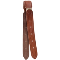 Cashel Breathe Easy Leather and Elastic Billet Strap For Sale!