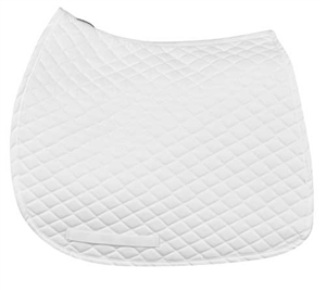 PRI Thin Cotton Dressage Underpad - all white - FOR SALE!