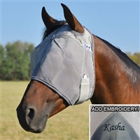 Crusader Fly Mask - No Ears For Sale!