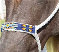 Professional's Choice Beaded Cowboy-Braided Rope Halter
