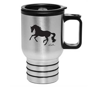 'Lila' Horse Travel Mug 16oz For Sale!