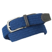 Ladies Braided Stretch Belt; This Ovation Braided Stretch Belt is an elastic belt perfect for keeping your breeches, jeans or jods in place while allowing free movement and comfort.