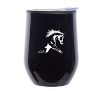 Black Wine Tumbler for Sale!