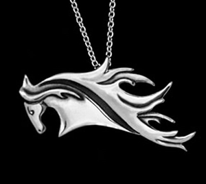 JJeni Aurora Horse Necklace For Sale!
