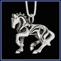 JJeni Dressage Horse, Ellington© Necklace For Sale!