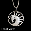 JJeni Morgance ©, Silver Horse Pendant Necklace For Sale!