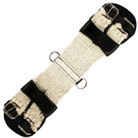 Montana Cincha Center Fire Rigged Mohair Girths for Sale!
