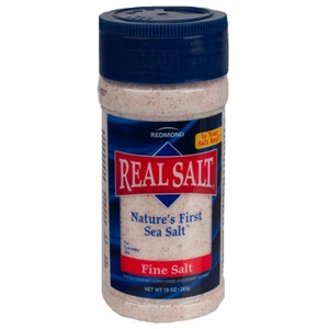 Redmond Real Salt - Nature's First Sea Salt 10oz for Sale!