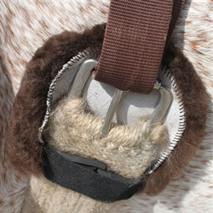 Shear Comfort Sheepskin Cinch Ring Protectors for Sale!