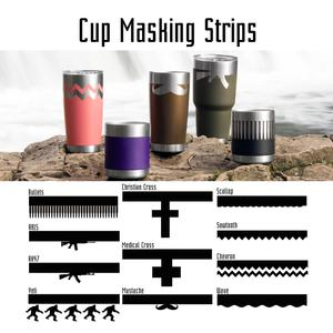 Cup Masking Strips