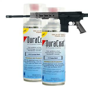 DuraCoat® Standard Colors - Blacks - Aerosol Application