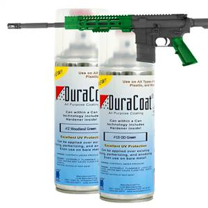 DuraCoat® Standard Colors - Greens - Aerosol Application