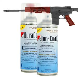 DuraCoat® Standard Colors - Reds - Aerosol Application