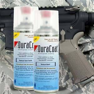 DuraCoat® Tactical Ultra Flat Colors - Aerosol Application