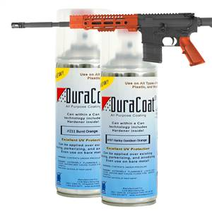 DuraCoat® Standard Colors - Oranges - Aerosol Application