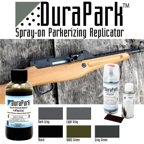DuraPark™ Spray-On Parkerizing Replicator - Liquid Application