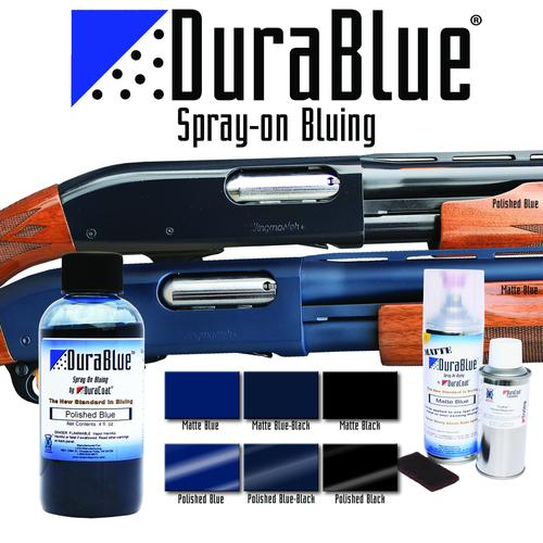 DuraBlue® Spray-On Bluing - Liquid Application