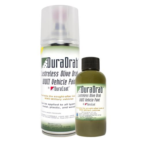 DuraDrab™ Lustreless Olive Drab WWII Vehicle Paint