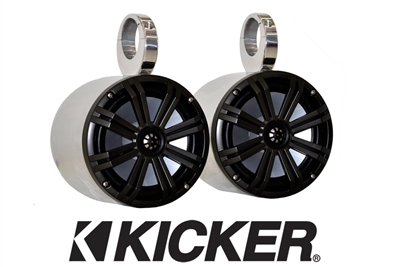 "Big Air 6.5"" Kicker Bullet Speakers"