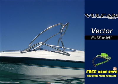 vulcan vector cheap wakeboard tower