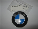 BMW Wheel Cap Emblem 36131122132