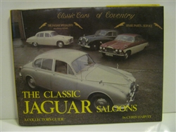Classic Jaguar Saloons by Chris Harvey - 1981